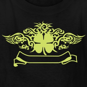 Tribal Clover Tattoo - Kids' T-Shirt