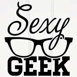 Like a i love cool sexy geek nerd glasses boss Hoodies - Men's Hoodie
