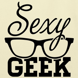 Like a i love cool sexy geek nerd glasses boss Bags  - Eco-Friendly Cotton Tote
