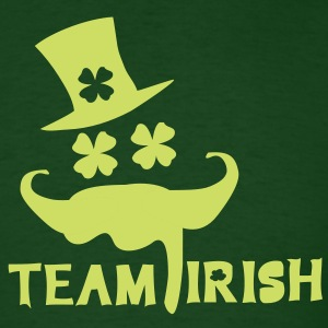 TEAM IRISH  st.Patrick's day Men's Standard Weight - Men's T-Shirt