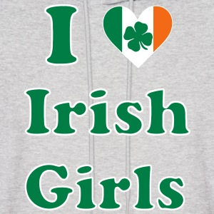 i_love_irish_girls Hoodies - Men's Hoodie
