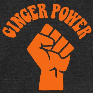 Ginger Power - Unisex Tri-Blend T-Shirt by American Apparel