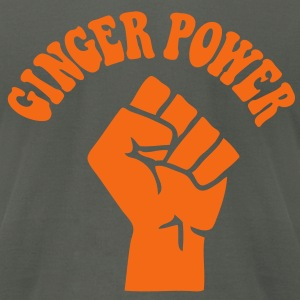 Ginger Power - Men's T-Shirt by American Apparel