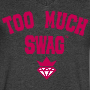 TOO MUCH SWAG T-Shirts - Men's V-Neck T-Shirt by Canvas