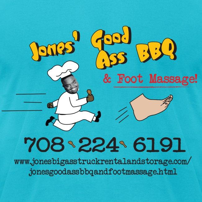 Jones Good Ass T-shirt - Gold Edition aka American Apparel