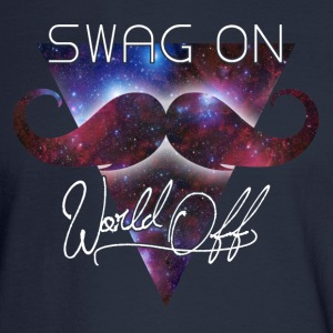 world off swag on Long Sleeve Shirts - Men's Long Sleeve T-Shirt