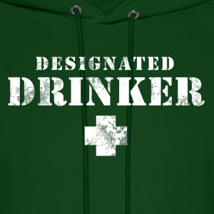 Designated Drinker Hoodies - Men's Hoodie