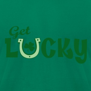 Get Lucky T-Shirts - Men's T-Shirt by American Apparel