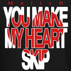 You Make My Heart Skip Matty B - Crewneck Sweatshirt