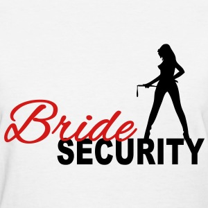 Bride Security Women's T-Shirts - Women's T-Shirt