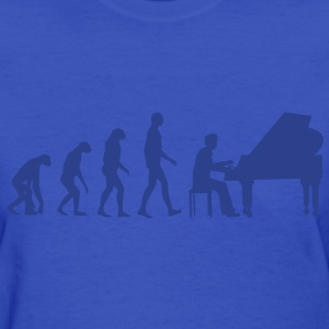 piano evolution Women's T-Shirts - Women's T-Shirt