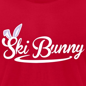 ski Bunny T-Shirts - Men's T-Shirt by American Apparel