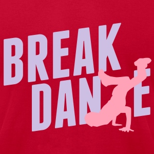 breakdance T-Shirts - Men's T-Shirt by American Apparel