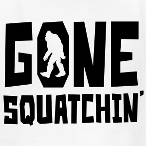 Gone Squatchin' - Kids' T-Shirt