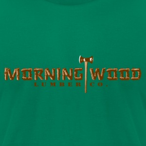 Morningwood Lumber Co T-Shirts - Men's T-Shirt by American Apparel