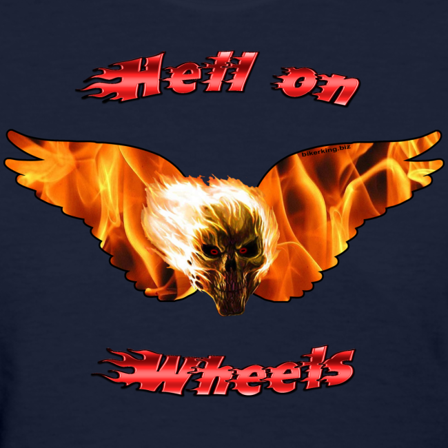 Ladies T Hell on Wheels (Front)
