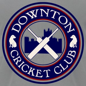 Downton Cricket Club (Grantham) - Men's T-Shirt by American Apparel