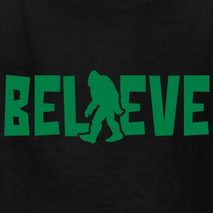 Believe in the Sasquatch - Kids' T-Shirt