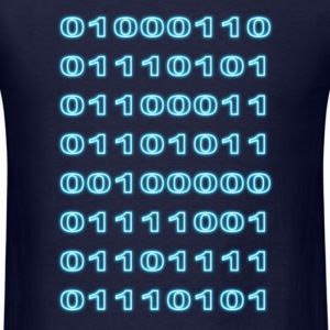 """Fuck you"" binary T-Shirts - Men's T-Shirt"