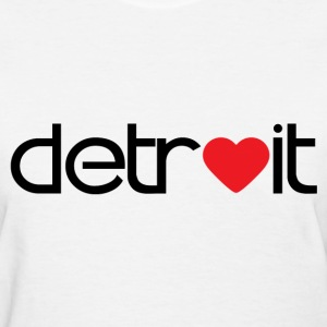 Detroit Love! - Women's T-Shirt