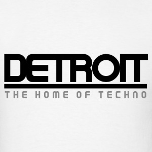 Detroit: The Home of Techno - Men's T-Shirt