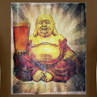 Design ~ Cosmic Beer Buddha Men's T-Shirt
