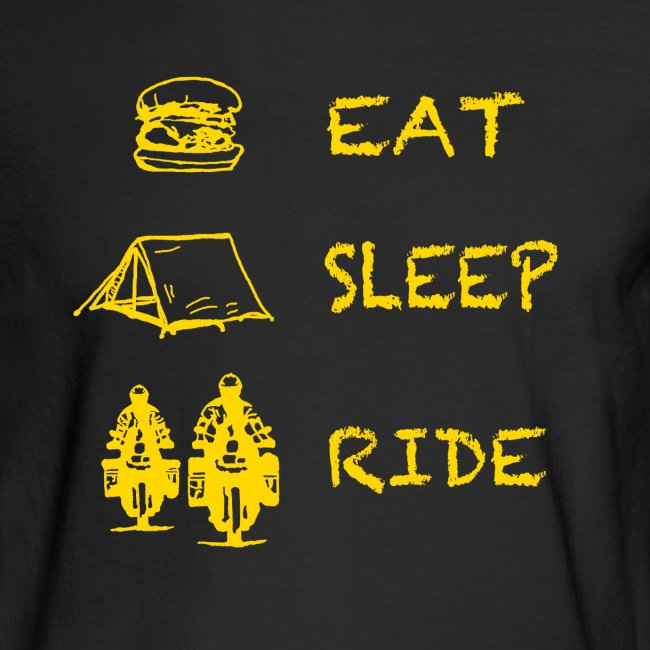 Eat - Sleep - Ride / Longsleeve UNISEX