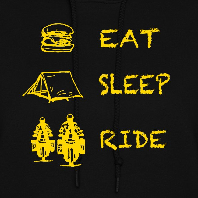 Eat - Sleep - Ride / Hoody LADIES