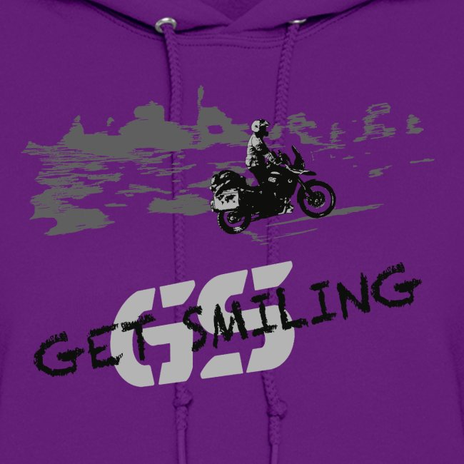 get smiling / Hoody LADIES