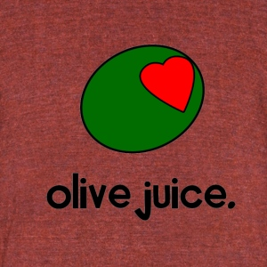 Olive Juice T-Shirts - Unisex Tri-Blend T-Shirt by American Apparel