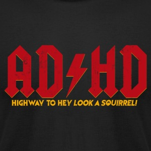 AD/HD T-Shirts - Men's T-Shirt by American Apparel