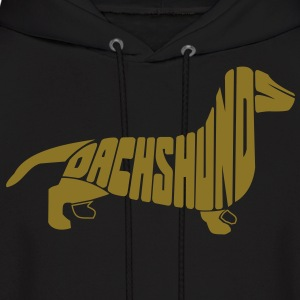 Dachshund Dog Art Hoodies - Men's Hoodie