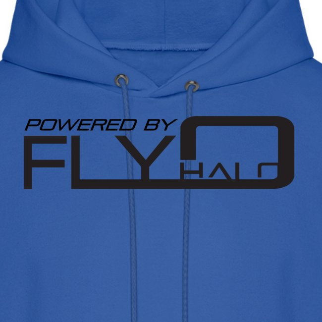 Blue Powered By Fly Halo Hoodie