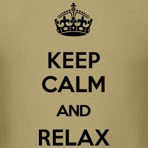 keep calm and relax T-Shirts - Men's T-Shirt