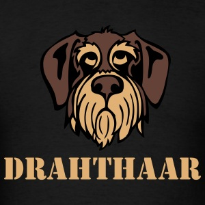 drahthaar_face_3c T-Shirts - Men's T-Shirt