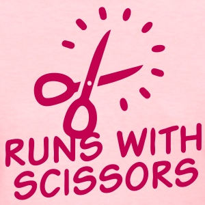 Runs with Scissors - Women's T-Shirt