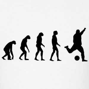 Evolved to play Soccer T-Shirts - Men's T-Shirt