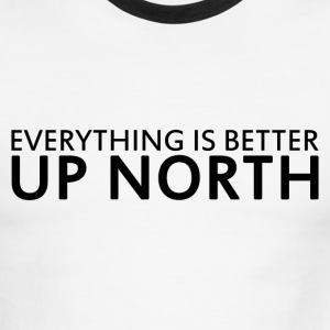 Up North - Men's Ringer T-Shirt