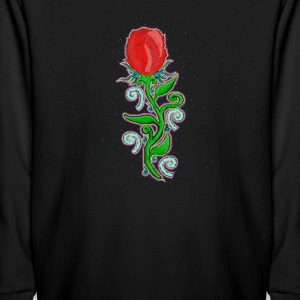 Mystic Rose - Folk Art Design Kids' Shirts - Kids' Long Sleeve T-Shirt