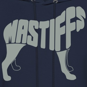 Mastiff Dog Art Hoodies - Men's Hoodie