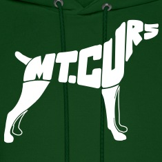 Mt Cur Dog Art Hoodies