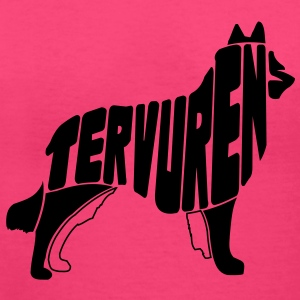 Tervuren Dog Art Women's T-Shirts - Women's V-Neck T-Shirt