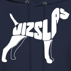 Vizsla Dog Art Hoodies