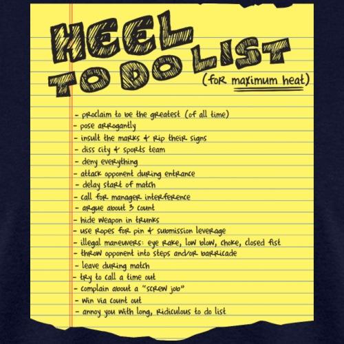 Heel To Do List