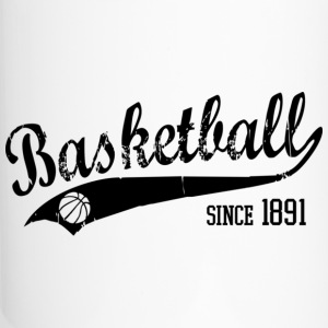 Basketball since 1891 Slogan black Bottles & Mugs - Travel Mug