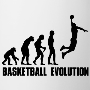 Basketball Evolution Dunk Bottles & Mugs - Coffee/Tea Mug