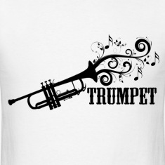 Trumpet with Swirls
