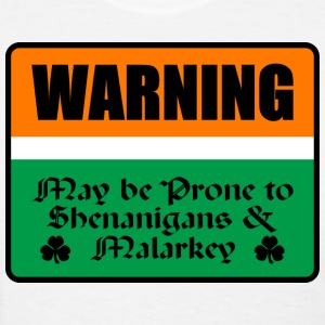 St Patricks Warning - Women's T-Shirt