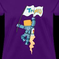 Design ~ Women's T-Shirt: TrueMU w/ Flag