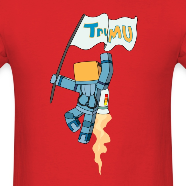 Men's T-Shirt: TrueMU w/ Flag
